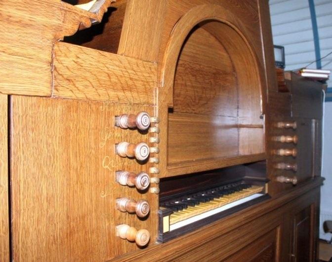 Schniter orgel Duurswoude (wijnjewoude)